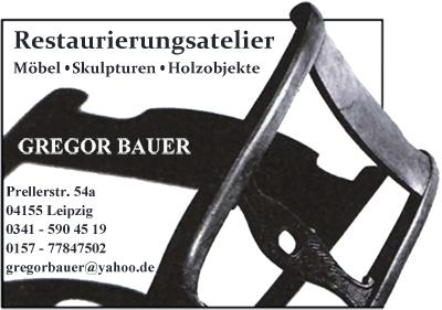Leipzig Möbel Restaurierungsatelier Bauer